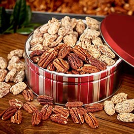 Sweet n' Salty Nut Gift Tin - Sweet n' Salty Nut Gift Tin