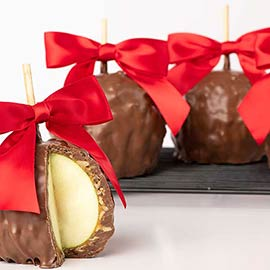 Colossal Caramel Apples