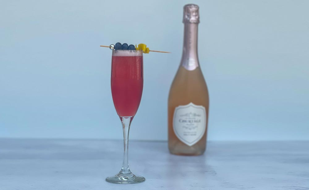 What We're Drinking: Breezy Berry Bubbly