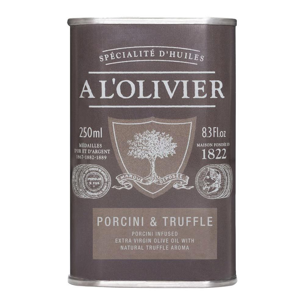 A L'Olivier Extra Virgin Olive Oil with Porcini & Black Truffle