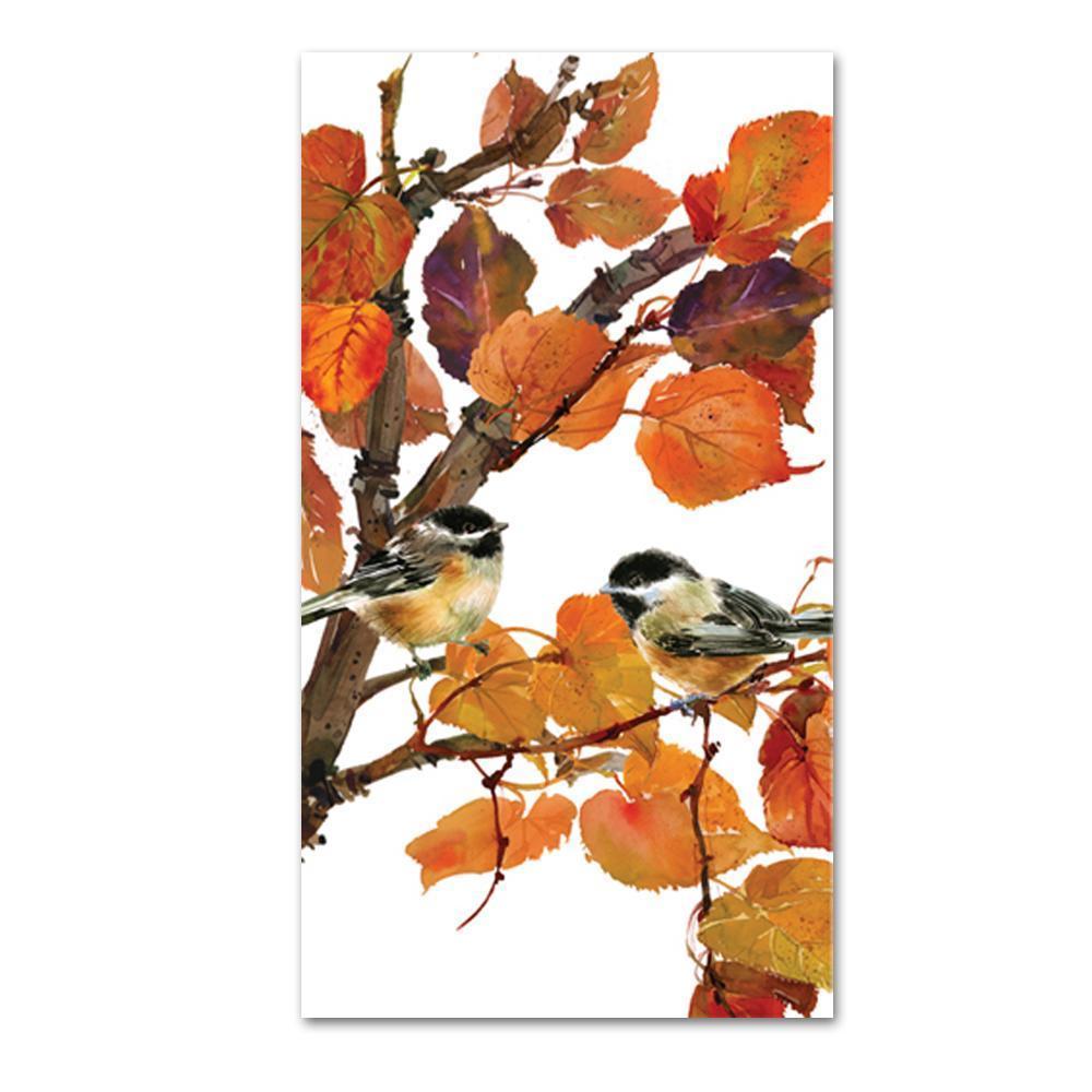 Autumn Birds Guest Towel