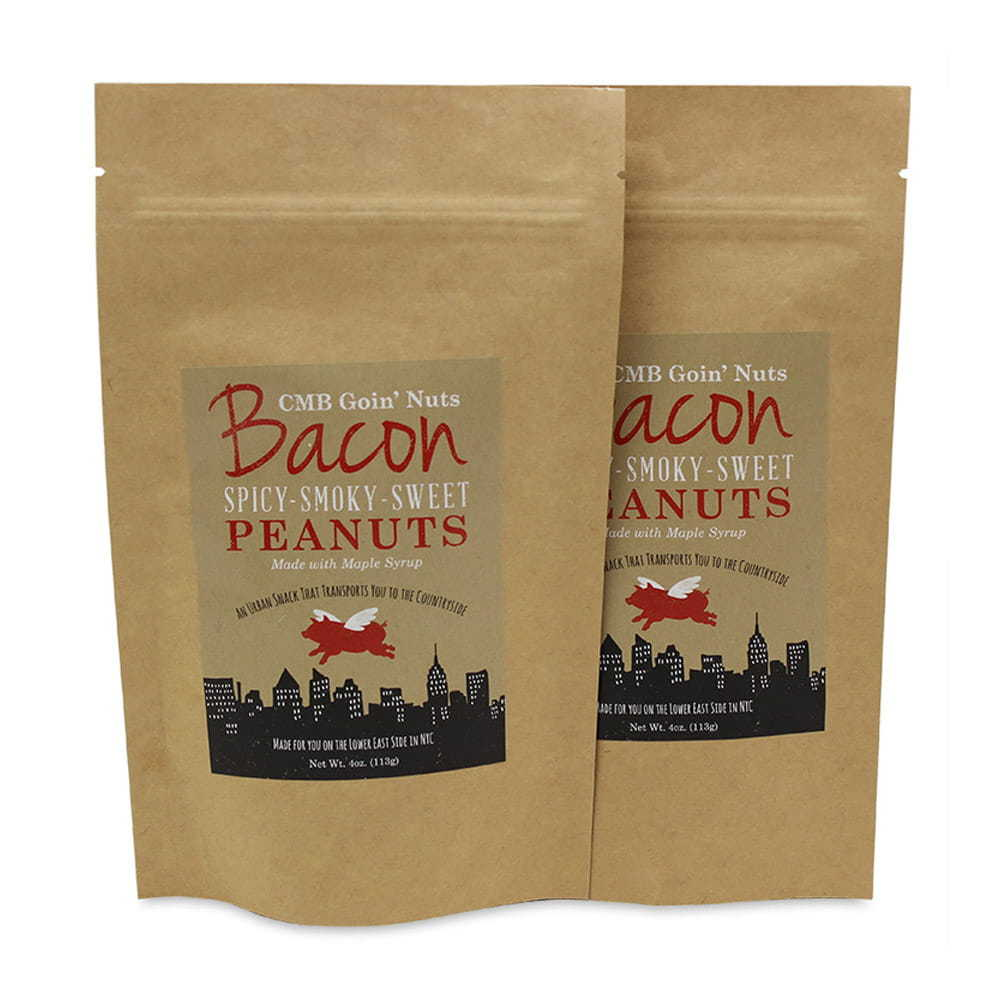 Roasted Maple Bacon Peanuts, 2-pack