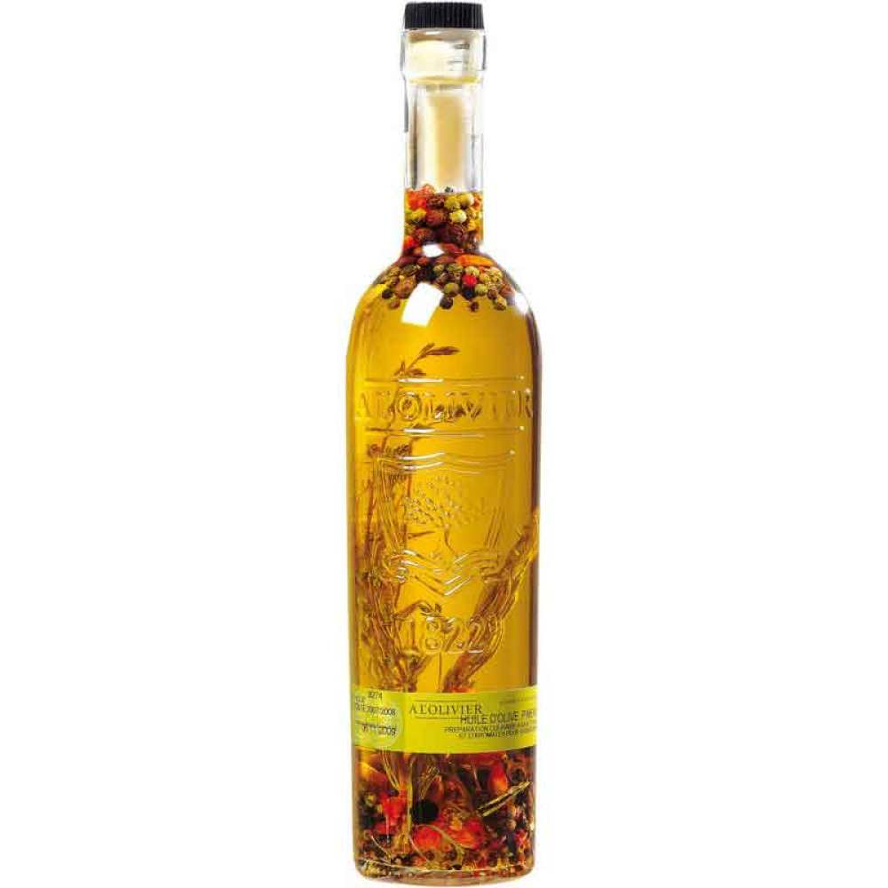 Extra Virgin Olive Oil with Peppers, Thyme & Rosemary