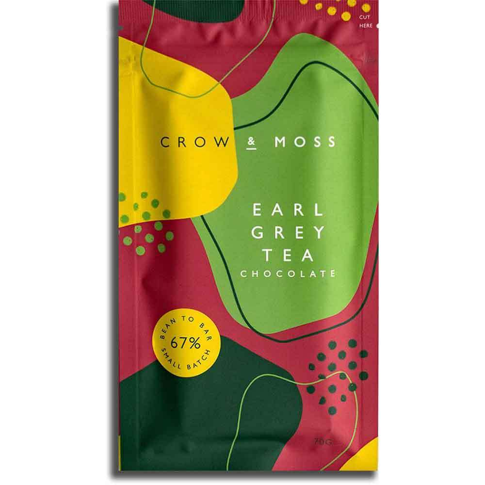 Earl Grey Tea Chocolate Bar, 67%