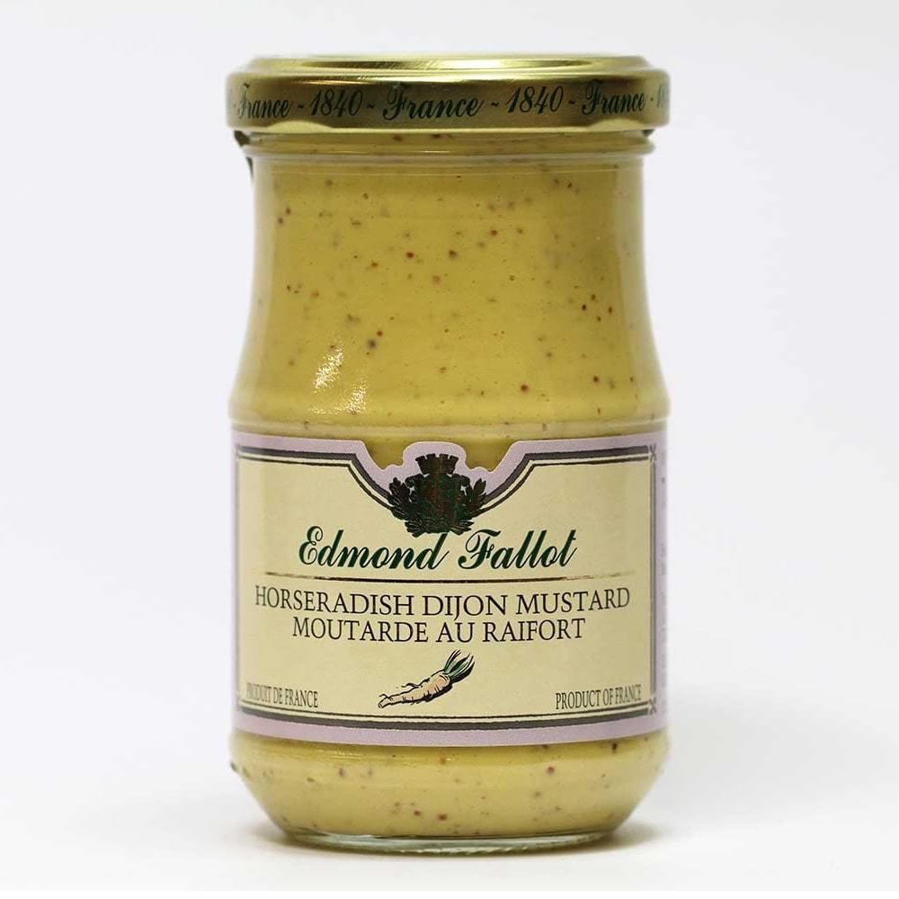 Edmond Fallot Horseradish Dijon Mustard