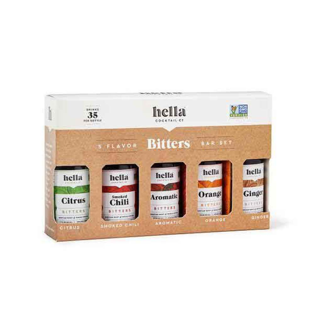 Five Flavor Bitters Set
