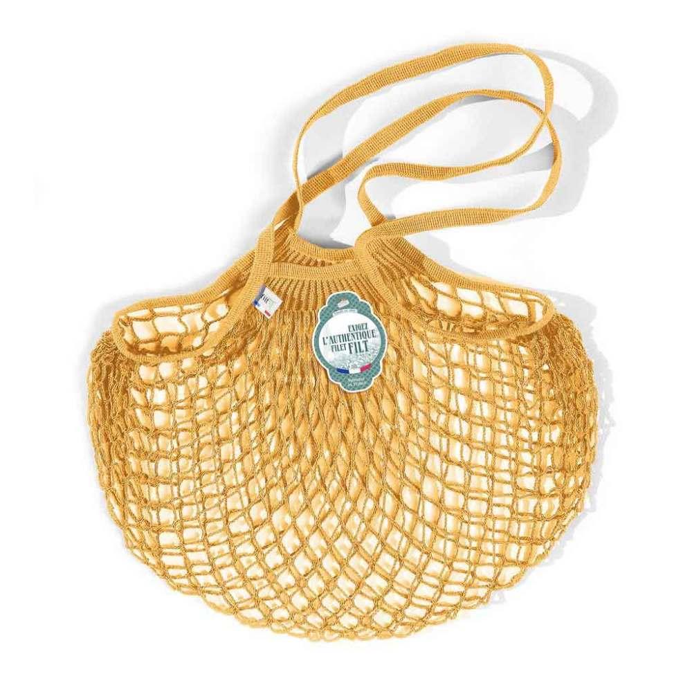 Filt Medium Cotton Net Shopper, Gold
