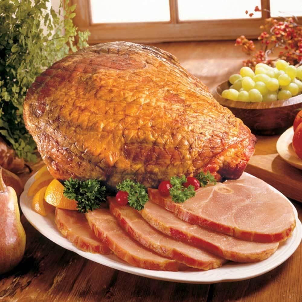 Arkansas Hickory Smoked Ham, Whole Bone-In