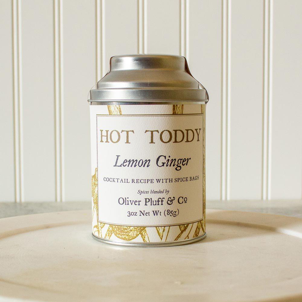 Lemon Ginger Hot Toddy Kit