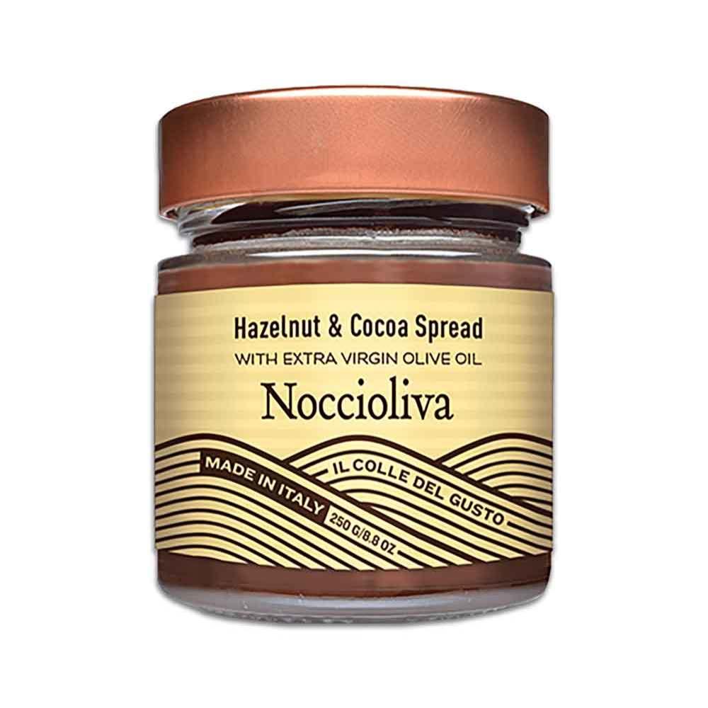 Noccioliva Smooth Hazelnut Chocolate Spread with Extra Virgin Olive Oil