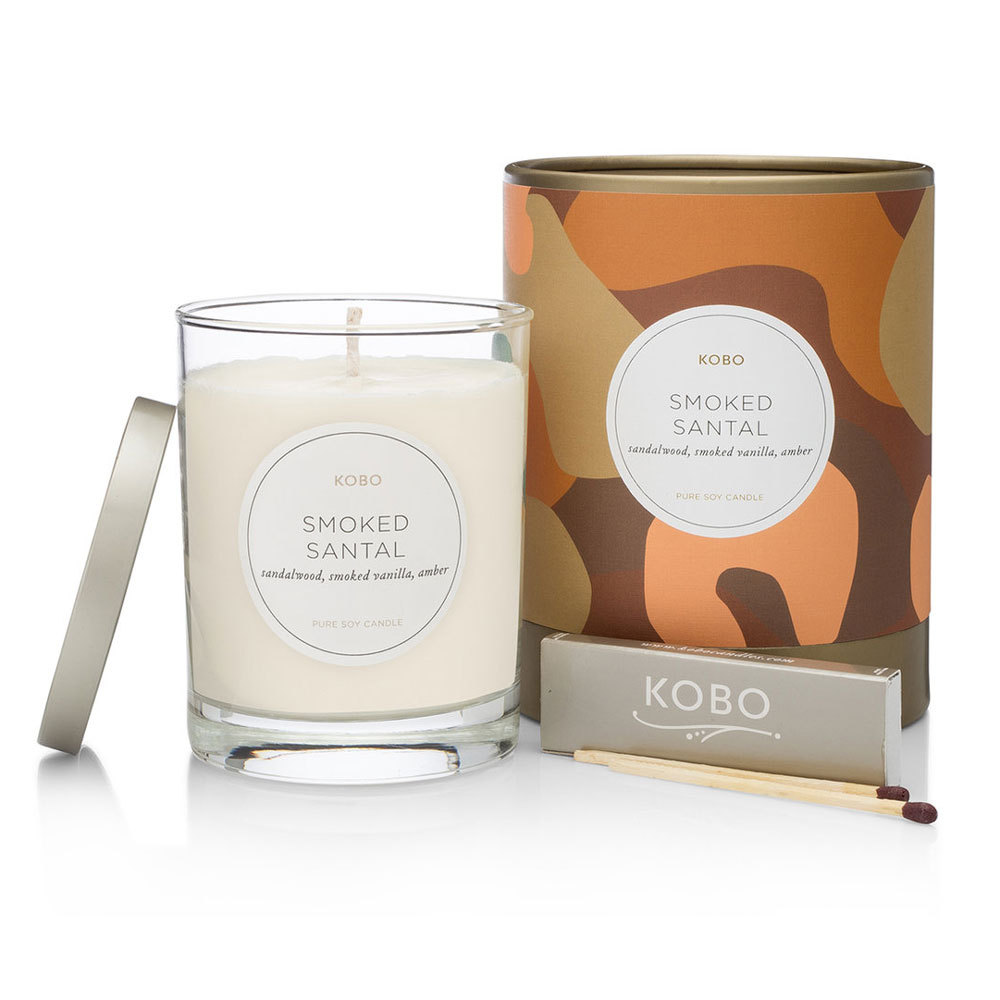 Smoked Santal Pure Soy Candle