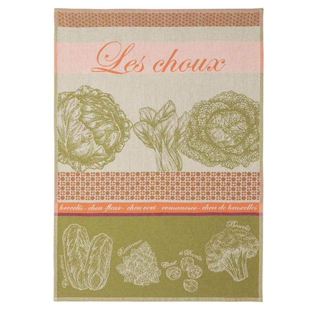 Les Choux French Cotton Jacquard Tea Towel