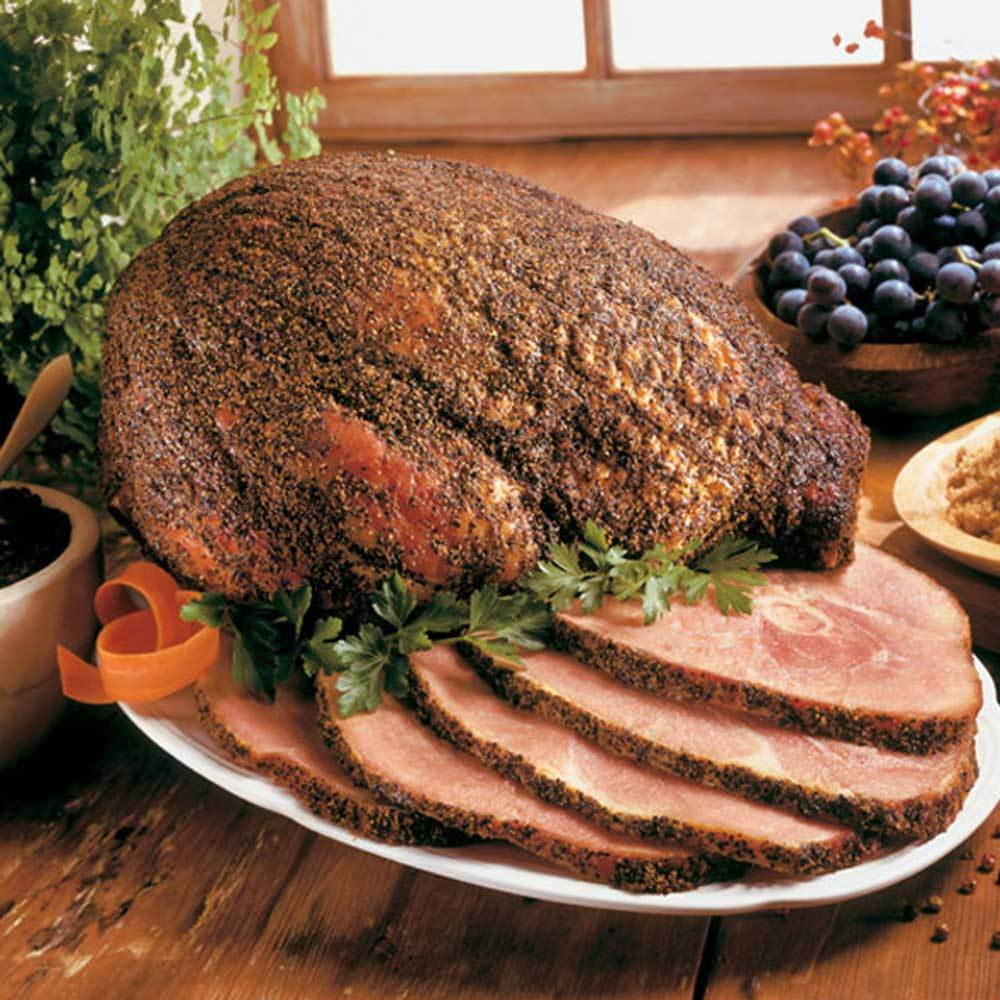 Arkansas Peppered Ham, Half Bone-In