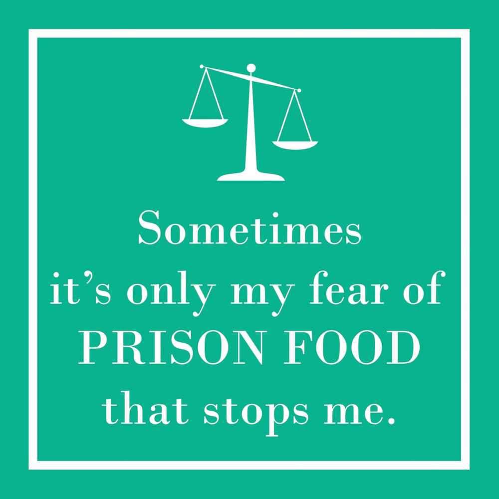 Prison Food Cocktail Napkin