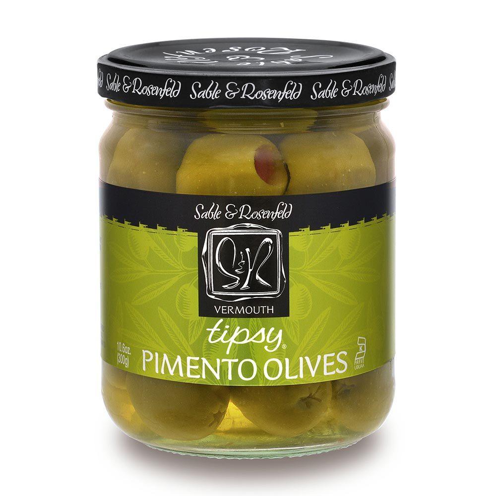 Vermouth Tipsy Olives