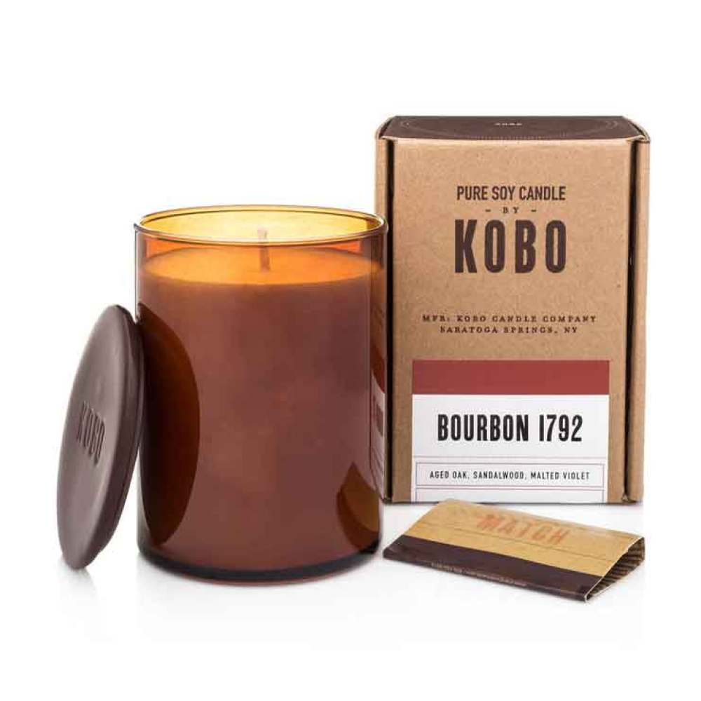 Bourbon 1792 Pure Soy Candle