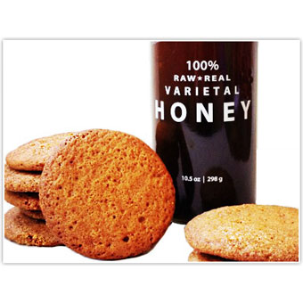Buckwheat Honey & Ginger Cookies