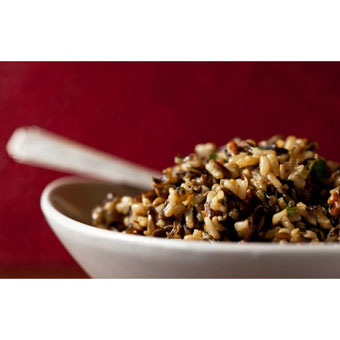 Wild Rice & Cranberry Salad with Curry Vinaigrette