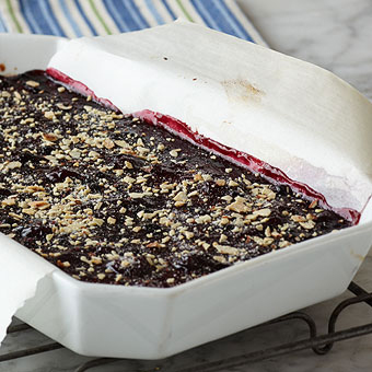 Cherry Berry Almond Bars