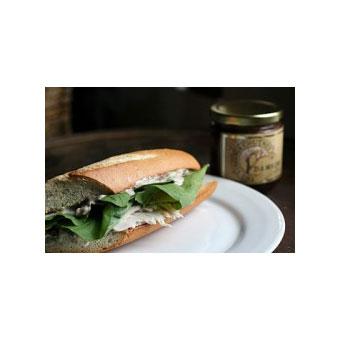 Smoked Turkey and Stilton Sandwich