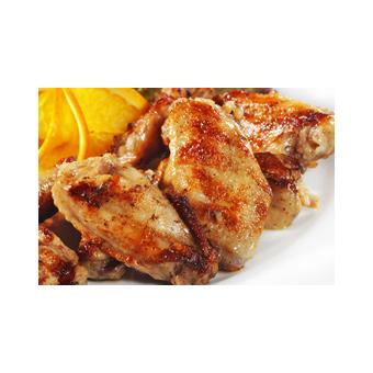 Honey Mustard Pretzel Dip Chicken Wings