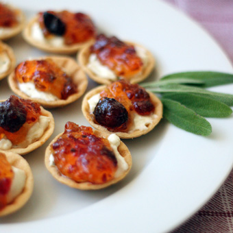 Cranberry Pepper Jelly Cups
