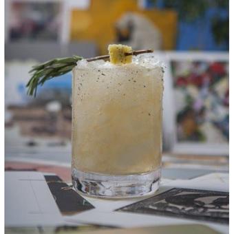Pineapple Rosemary Margarita