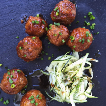 Pineapple BBQ Meatballs