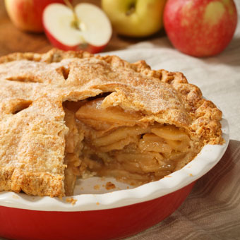 Cinnamon Cider Apple Pie