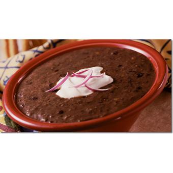 Texas Wrangler Black Bean Soup