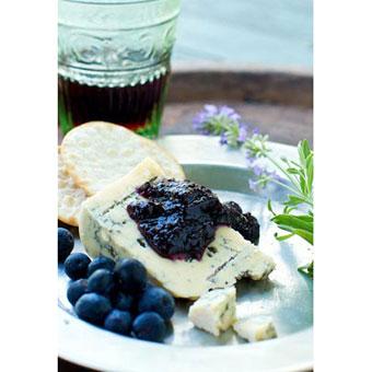 Bleu on Blue Appetizer