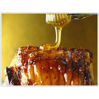 Roast Pork Tenderloin with Sage Honey Glaze