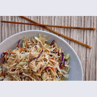 Quick & Simple Asian Slaw