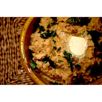 Creole Mustard Mashed Potatoes