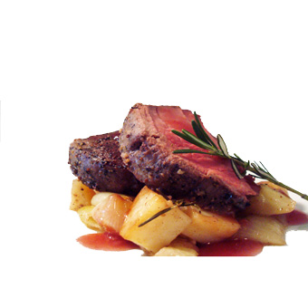 Oven Roasted Beef Tenderloin with Tishbi Cabernet Wine Jelly