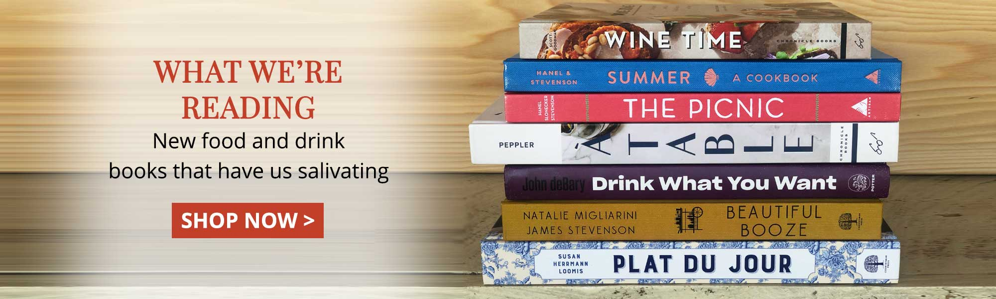 What We're Reading: New food and drinks books that have us salivating