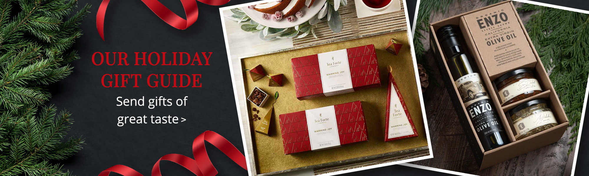 OUR HOLIDAY GIFT GUIDE: Send gifts of great taste >