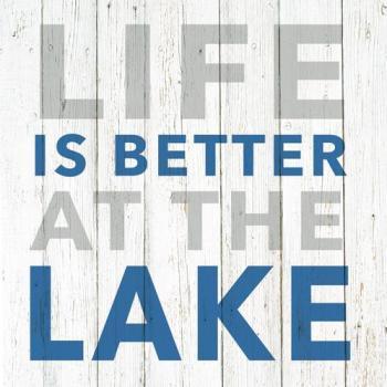 <i>Better at the Lake</i> Beverage Napkins