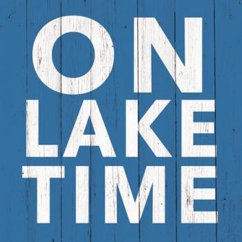 <i>On Lake Time</i> Cocktail Napkins