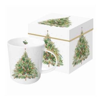 Christmas Hill Tree Gift-Boxed Mug