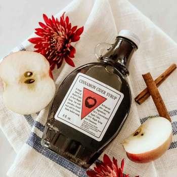 Cinnamon Cider Syrup