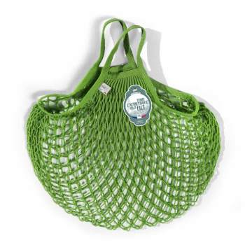 Filt Medium Cotton Net Shopper, Apple Green
