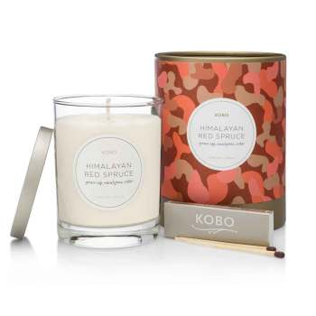 KOBO Himalayan Red Spruce Pure Soy Candle