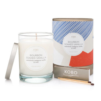 KOBO Bourbon Soaked Vanilla Pure Soy Candle