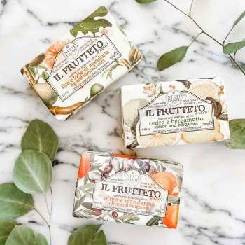 Hand-Milled Luxury Italian Soaps - Nesti Dante Cucumber Bar Soap