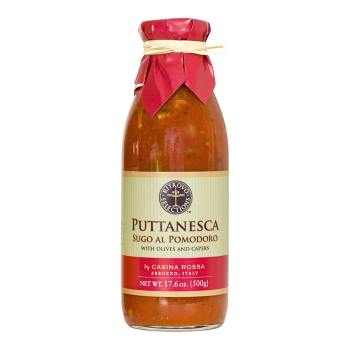<i>Sugo al Pomodoro</i> Puttanesca Sauce with Olives & Capers