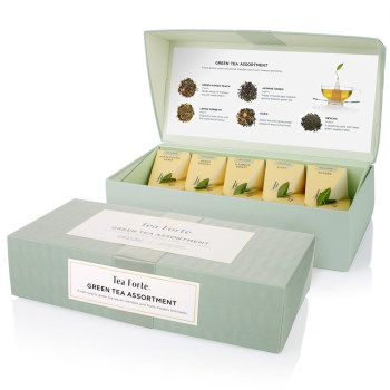 Assorted Gift Boxed Essential Green Teas