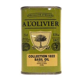 A L'Olivier Basil Infused Olive Oil