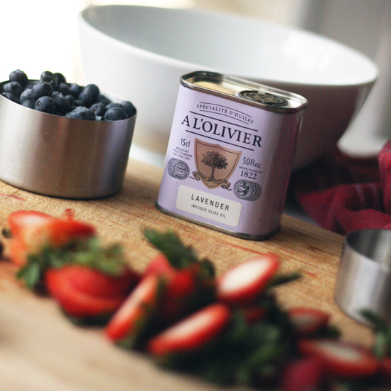 Lavender Infused Extra Virgin Olive Oil