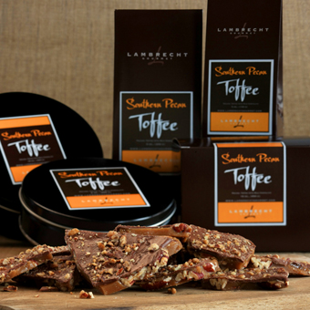 Handmade Southern Pecan Toffee